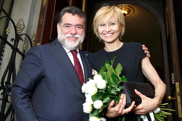 Ингеборга Дапкунайте, Валерия, Филипп Янковский и другие гости на приеме в посольстве Италии